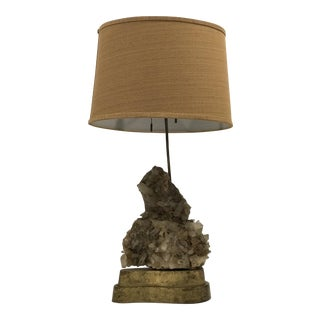 Carole Stupell Quartz Table Lamp For Sale