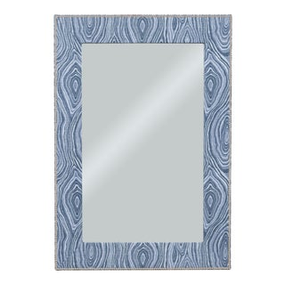 Thom Filicia for Vanguard Furniture The Brewster Upholstered Mirror For Sale