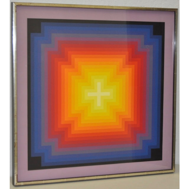 Jurgen Peters Op Art Serigraph C.1970's - Image 2 of 7