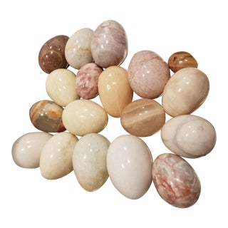 18 Stone Eggs For Sale