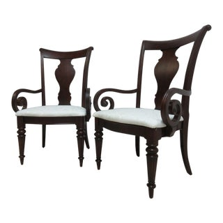 Pennsylvania House Cherry Cortland Manor Regency Dining Chairs - A Pair