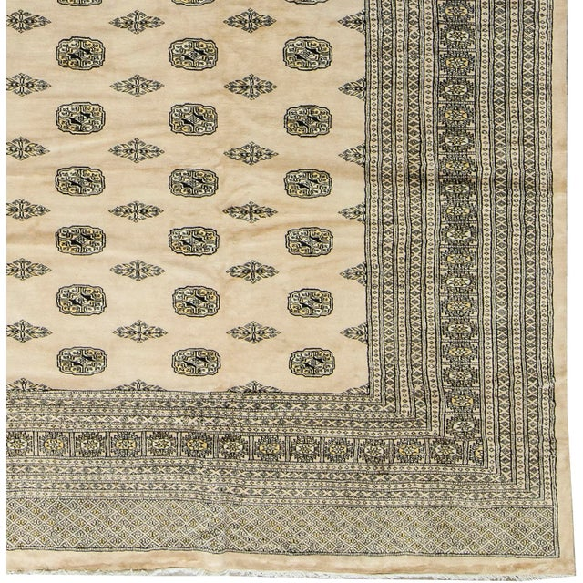 Traditional Bokhara Hand-Woven Rug - 12' X 15' - Image 2 of 3