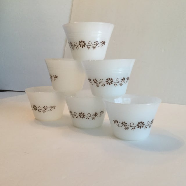Milk Glass Custard Cups - Set of 6 - Image 5 of 10