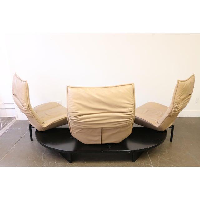 Leather Veranda 3 Sofa by Vico Magistretti for Cassina For Sale - Image 9 of 13