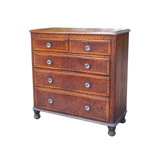 19th Century Sponge Painted Dresser For Sale