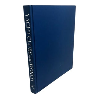 Yacht Clubs of the World Hardcover Oversized Coffee Table Nautical Book For Sale