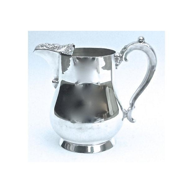 Vintage Silver-Plate Acanthus Leaf Pitcher - Image 2 of 6