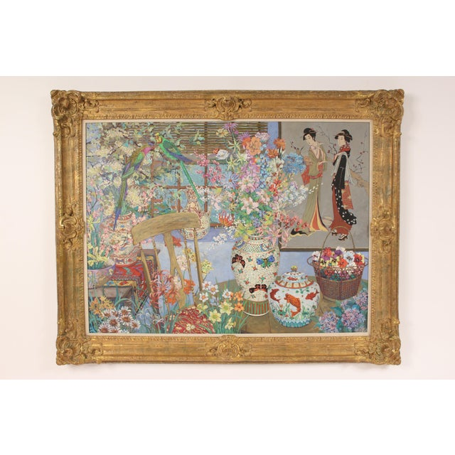 Chinoiserie Still Life by John Powell For Sale - Image 13 of 13
