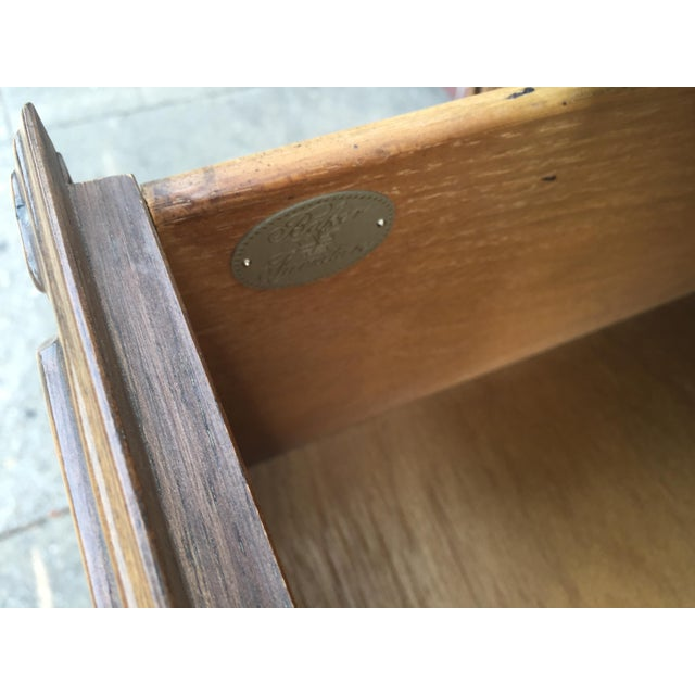 Wood Baker Furniture Company French Style Chest Dresser For Sale - Image 7 of 8