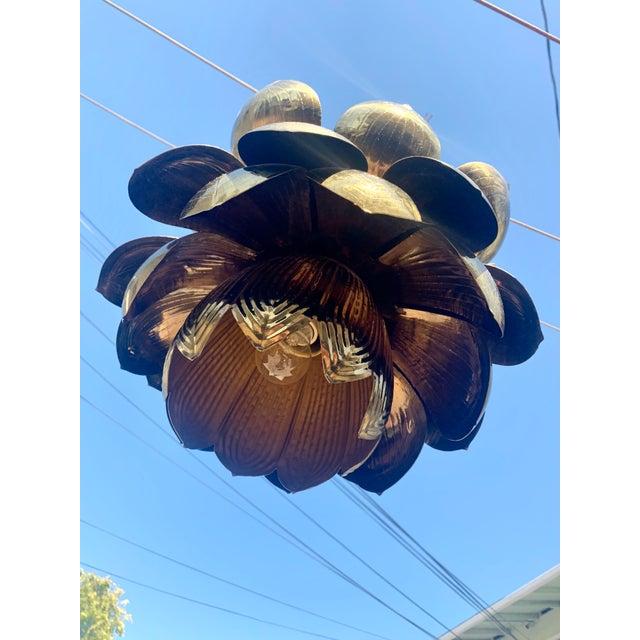 Feldman Lighting Feldman Lotus Pendant Light For Sale - Image 4 of 6