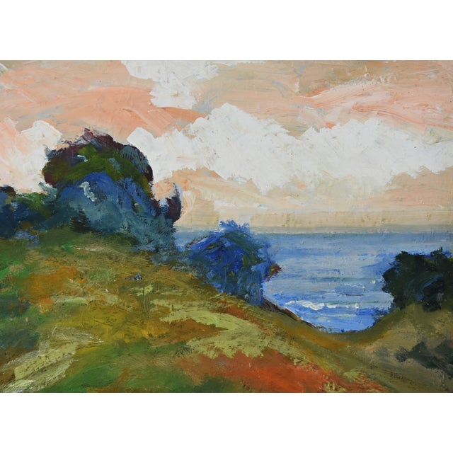 Juan Guzman Plein Air California Seascape Landscape Painting For Sale In Los Angeles - Image 6 of 10