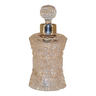 1895 Crystal Perfume Bottle For Sale