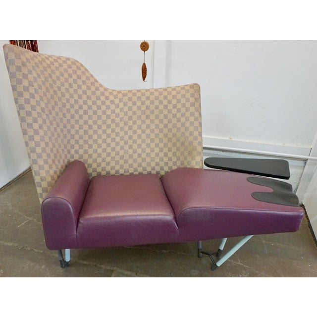 Purple Torso Lounge Chair by Paolo Deganello For Sale - Image 8 of 9