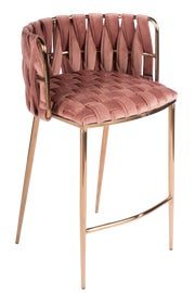 Image of Fabric Counter Stools