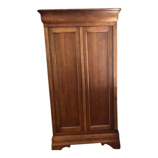 1990s Vintage Breuners Louis-Philippe Style Armoire For Sale