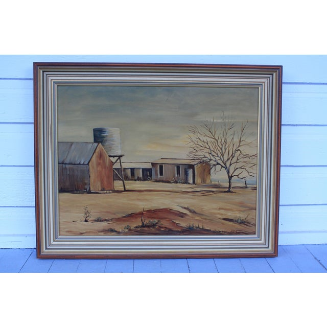 Country May Jones Australian Oil Painting For Sale - Image 3 of 11