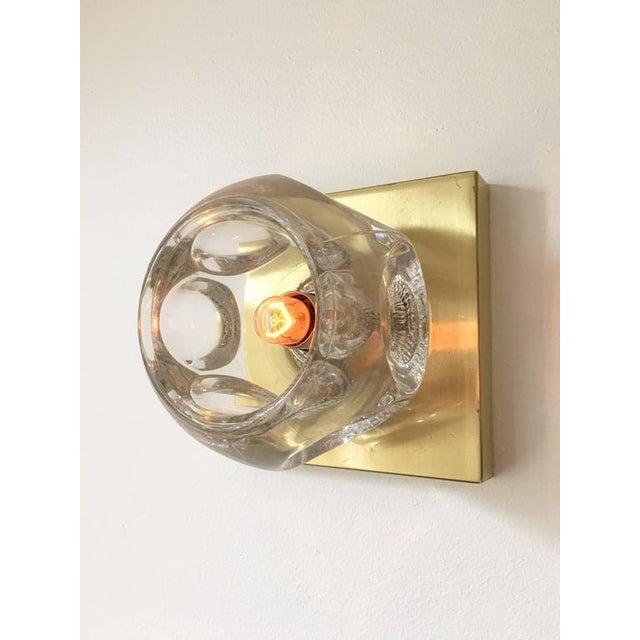 Sciolari Glass & Brass Sconce - Image 5 of 10