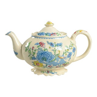 Mason's Regency Plantation Colonial Teapot & Lid For Sale