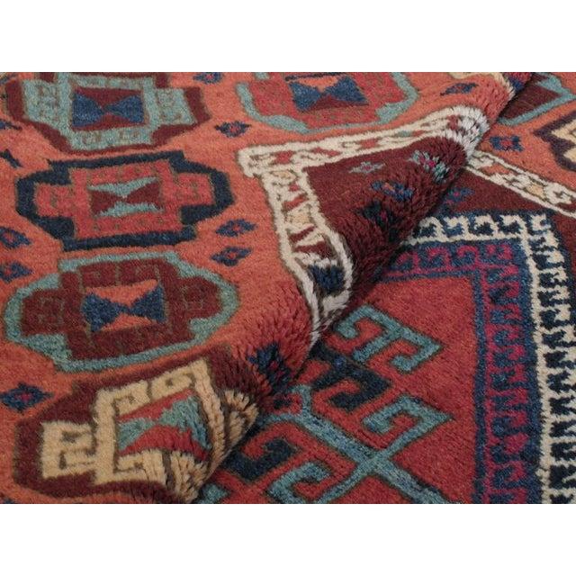 Antique Kurdish Long Rug For Sale - Image 9 of 9