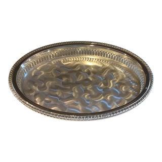 Vintage Tarnish Resistant Serving Bowl Dish