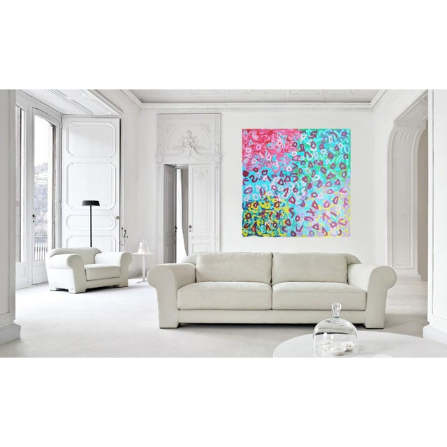Susie Kate Original Abstract Painting - Image 2 of 2