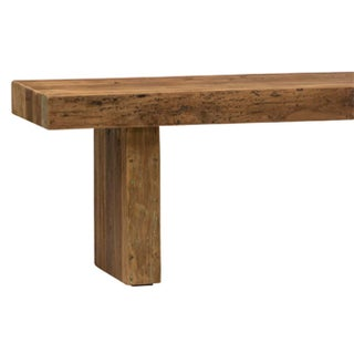Solid Teak Wood Bench Preview
