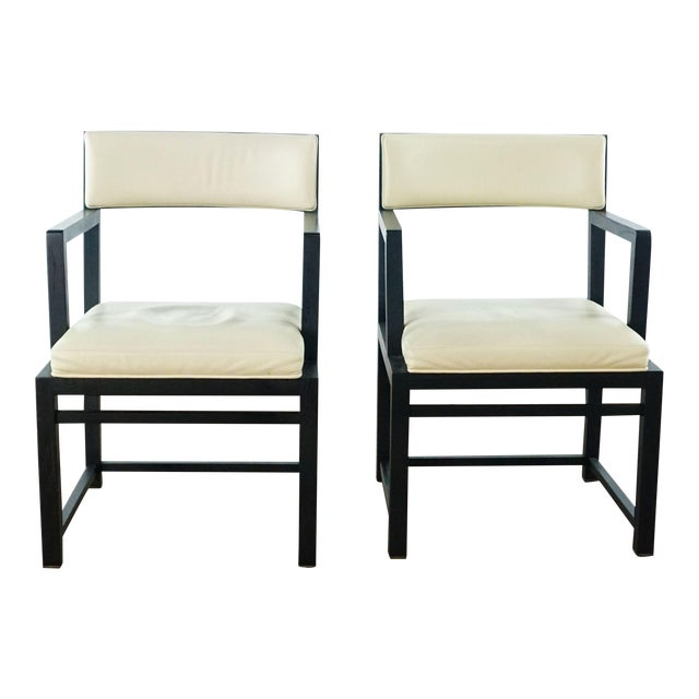 B&b Italia Side Chairs - a Pair For Sale