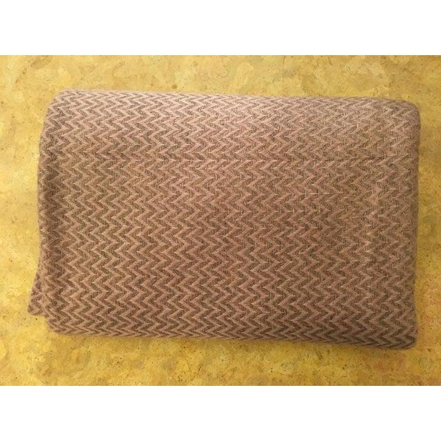 Large Pink Cashmere Blanket - Image 2 of 11