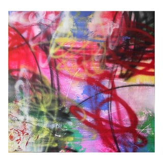 """Original Abstract Acrylic Painting Titled: """"Unfolding Path"""" For Sale"""