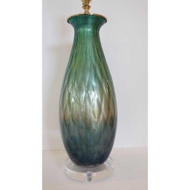 Tri-Color Mercury Glass Lamp - Image 4 of 6