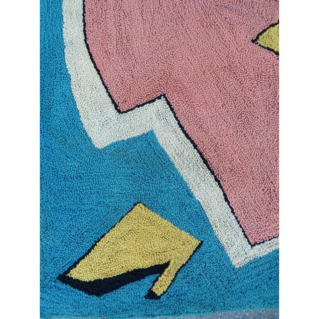 Playful Abstract Tapestry By Miripolsky - Image 5 of 7