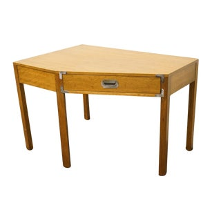 Bernhardt Furniture Campaign Style Corner Desk For Sale