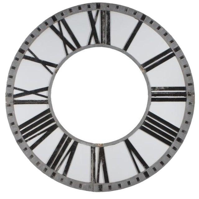 Cast Aluminum Clock Face - Image 1 of 5