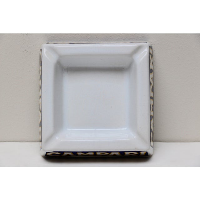 Italian Porcelain Campari Ashtray - Image 6 of 7