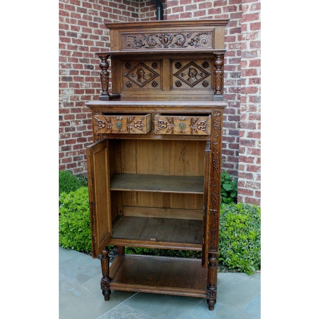 In 18th and 19th century Europe, sacristy or vestment cabinets were used to store liturgical garments, robes, wine and...