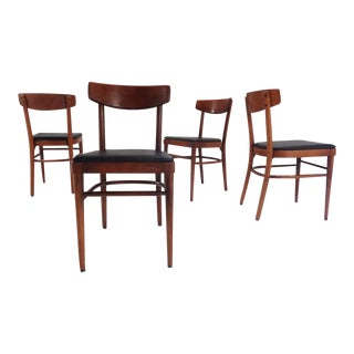 Mid Century Modern Thonet Nyc Compact Bentwood Cafe Chairs For Sale