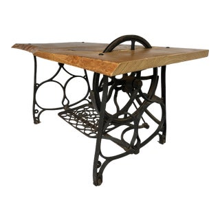 Cast Iron Sewing Machine Base Table