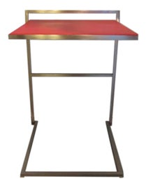 Image of Newly Made Leather Side Tables