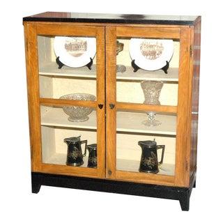 Mid 19th Century Biedeimeir Two Door Cabinet For Sale