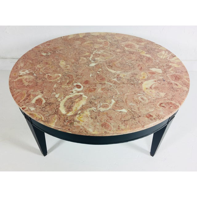 1950s 1950s Empire Marble Coffee Table For Sale - Image 5 of 6