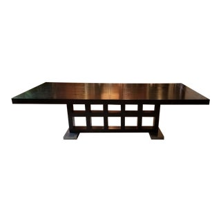 Transitional Berman Rosetti Ocampo Dining Table For Sale