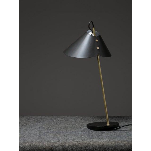"Luigi Caccia Dominioni Pair of ""Base Ghisa"" Table Lamps by Caccia Dominioni for Azucena For Sale - Image 4 of 9"