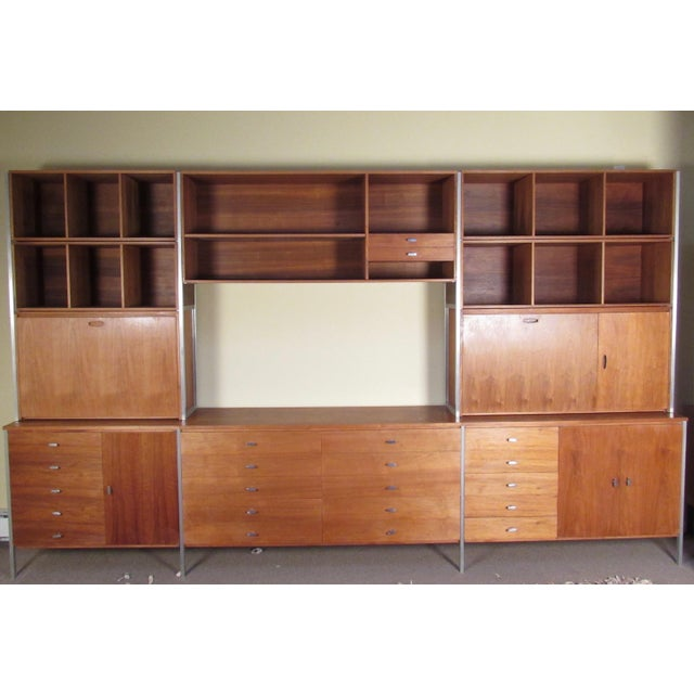 Paul McCobb for H Sacks and Son Modular Wall Unit For Sale - Image 12 of 12