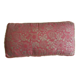 Fortuny Floral Pillow For Sale