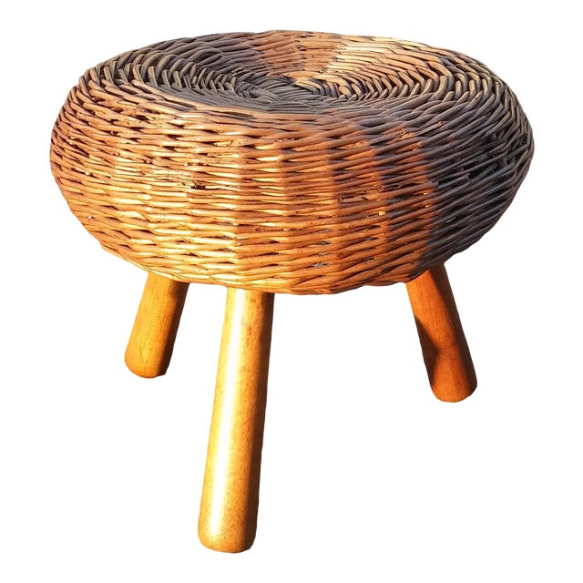 1960s Vintage Tony Paul Tri-Pod Stool For Sale
