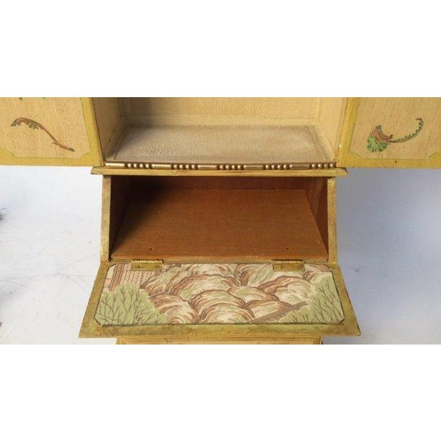 Vintage Wooden Jewelry Chest - Image 7 of 11