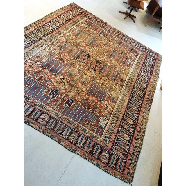 Antique Islamic Heriz Persian Rug - 9′ × 12′ - Image 5 of 10