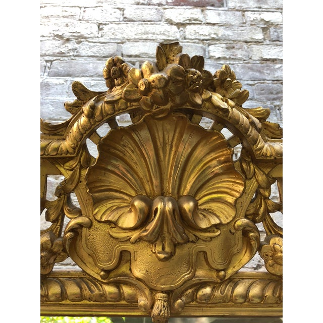 Traditional Pareclose 19th Century Mirror For Sale - Image 3 of 9