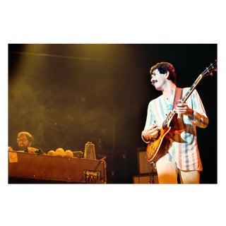 Carlos Santana Photograph, New York City 1975 For Sale