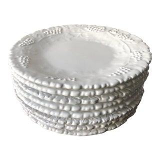 "Deruta Italian Faience ""Grappa"" Salad/Dessert Plates-Set 8 For Sale"